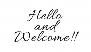 Hello & Welcome
